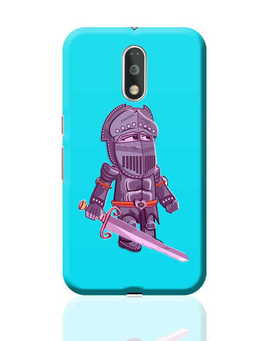Cartoon Knight (Purple) Moto G4 Plus Online India