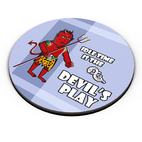 PosterGuy | Mini Devil Cartoon Fridge Magnet Online India by Famekrafts