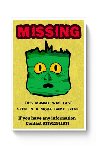 Green Mummy Poster Online India