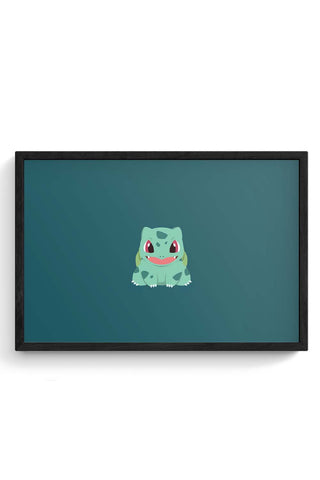 Bulbasaur Framed Poster Online India