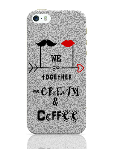 iPhone 5 / 5S Cases & Covers | Cream & Coffee Love ~ By Artflair iPhone 5 / 5S Case Online India