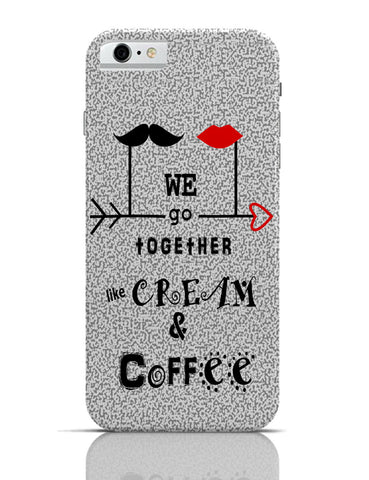 iPhone 6 Covers & Cases | Cream & Coffee Love ~ By Artflair iPhone 6 Case Online India