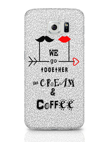 Samsung Galaxy S6 Covers | Cream & Coffee Love ~ By Artflair Samsung Galaxy S6 Covers Online India