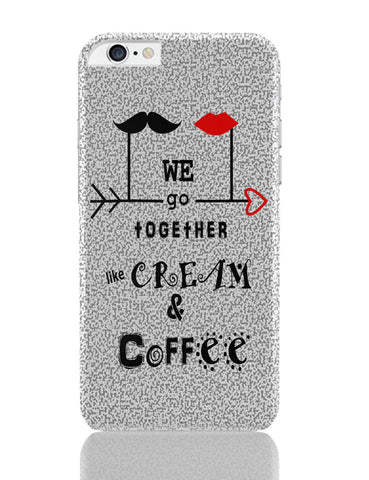 iPhone 6 Plus/iPhone 6S Plus Covers | Cream & Coffee Love ~ By Artflair iPhone 6 Plus / 6S Plus Covers Online India