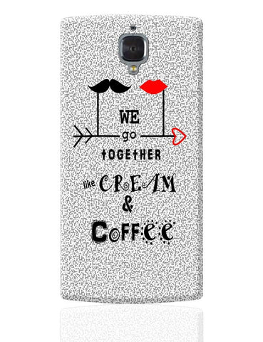 Cream & Coffee Love  ~ By Artflair OnePlus 3 Cover Online India