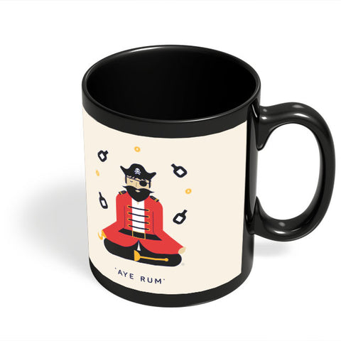 Coffee Mugs Online | Pirate Black Coffee Mug Online India