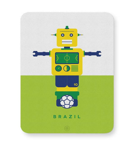 Buy Mousepads Online India | Robot Foosball Brazil Mouse Pad Online India
