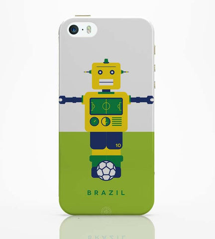iPhone 5 / 5S Cases & Covers | Robot Foosball Brazil iPhone 5 / 5S Case Online India