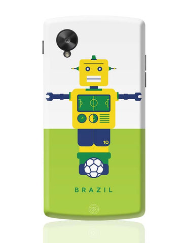 Google Nexus 5 Covers | Robot Foosball Brazil Google Nexus 5 Case Cover Online India