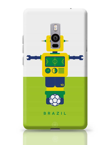 OnePlus Two Covers | Robot Foosball Brazil OnePlus Two Case Cover Online India