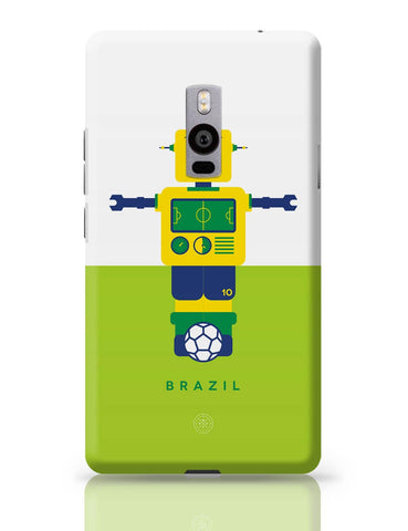 OnePlus Two Covers | Robot Foosball Brazil OnePlus Two Cover Online India