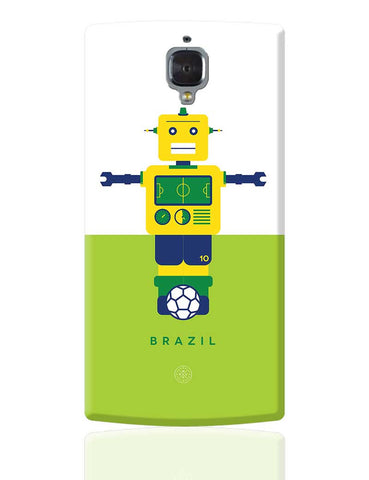 Robot Foosball Brazil OnePlus 3 Cover Online India
