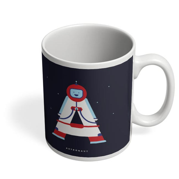 Alphabet People - Astronaut Coffee Mug Online India