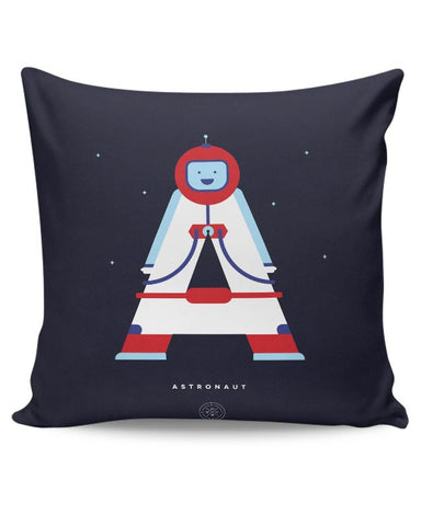 Alphabet People - Astronaut Cushion Cover Online India