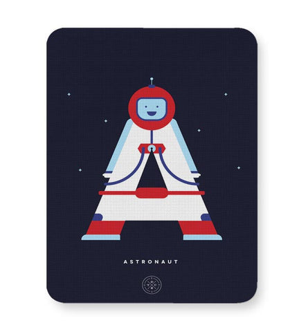 Alphabet People - Astronaut Mousepad Online India