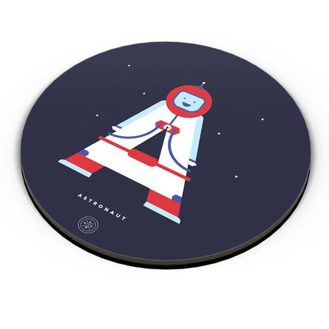 Alphabet People - Astronaut Fridge Magnet Online India