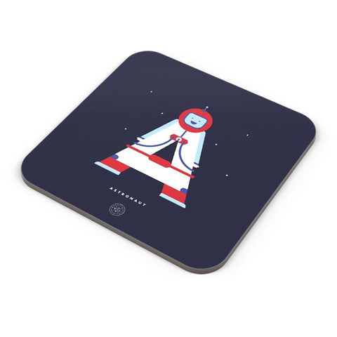 Alphabet People - Astronaut Coaster Online India
