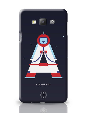 Alphabet People - Astronaut Samsung Galaxy A7 Covers Cases Online India