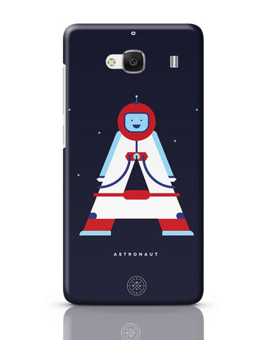Alphabet People - Astronaut Redmi 2 / Redmi 2 Prime Covers Cases Online India