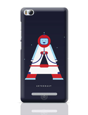 Alphabet People - Astronaut Xiaomi Mi 4i Covers Cases Online India
