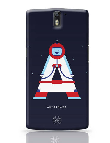 Alphabet People - Astronaut OnePlus One Covers Cases Online India
