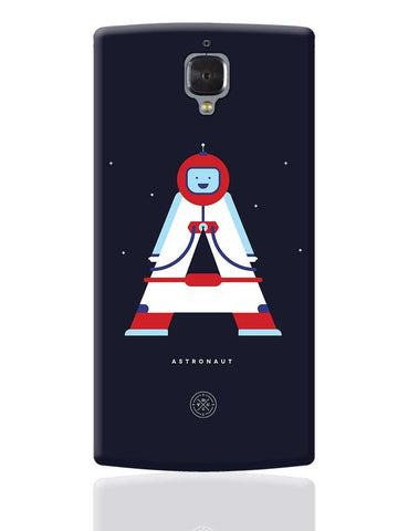 Alphabet People - Astronaut OnePlus 3 Cover Online India