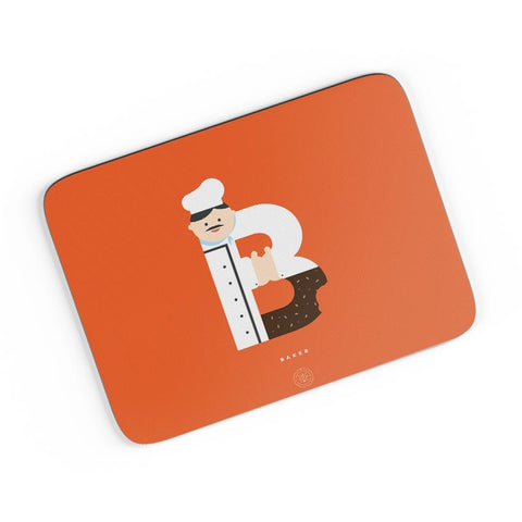 Alphabet People - Baker A4 Mousepad Online India