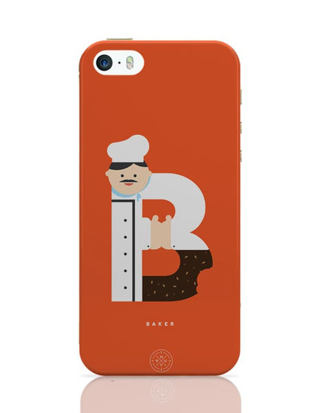 Alphabet People - Baker iPhone Covers Cases Online India