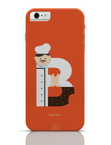 Alphabet People - Baker iPhone 6 / 6S Cases Online India