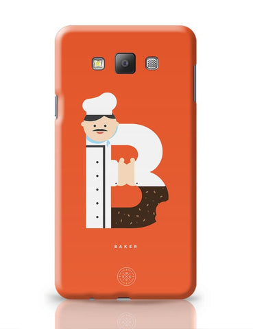 Alphabet People - Baker Samsung Galaxy A7 Covers Cases Online India