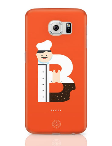 Alphabet People - Baker Samsung Galaxy S6 Covers Cases Online India
