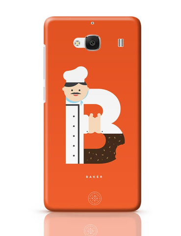 Alphabet People - Baker Redmi 2 / Redmi 2 Prime Covers Cases Online India