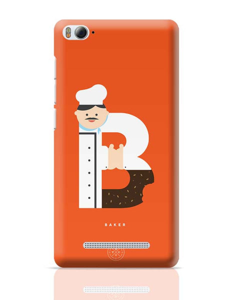 Alphabet People - Baker Xiaomi Mi 4i Covers Cases Online India