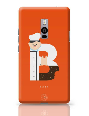 Alphabet People - Baker OnePlus Two Covers Cases Online India