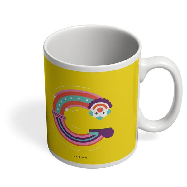 Alphabet People - Clown Coffee Mug Online India