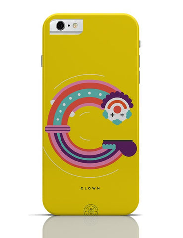 Alphabet People - Clown iPhone 6 / 6S Cases Online India