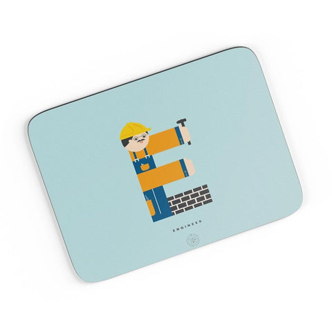 Alphabet People - Engineer A4 Mousepad Online India