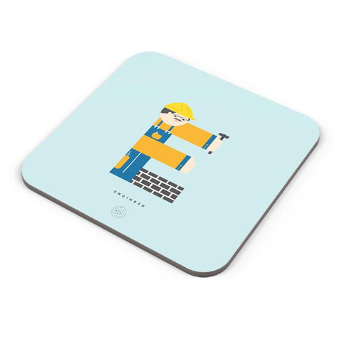 Alphabet People - Engineer Coaster Online India