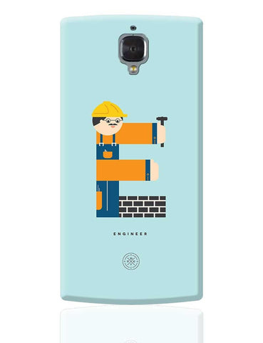Alphabet People - Engineer OnePlus 3 Cover Online India