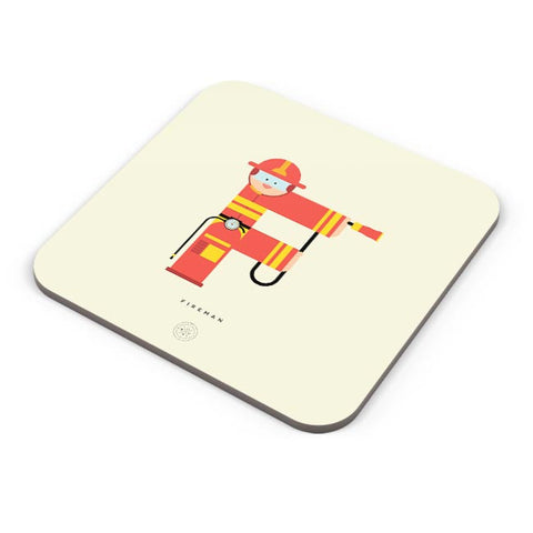 Alphabet People - Fireman Coaster Online India