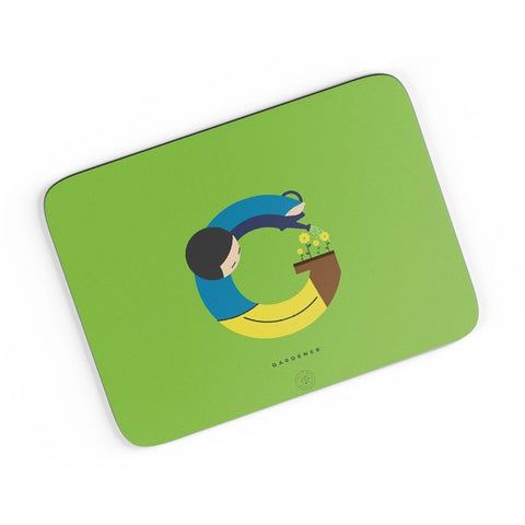 Alphabet People - Gardener A4 Mousepad Online India