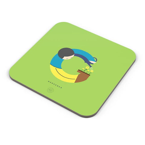 Alphabet People - Gardener Coaster Online India