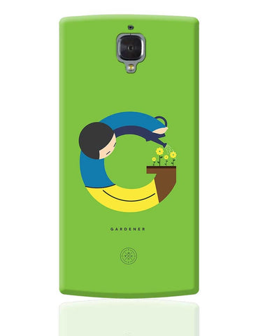 Alphabet People - Gardener OnePlus 3 Cover Online India
