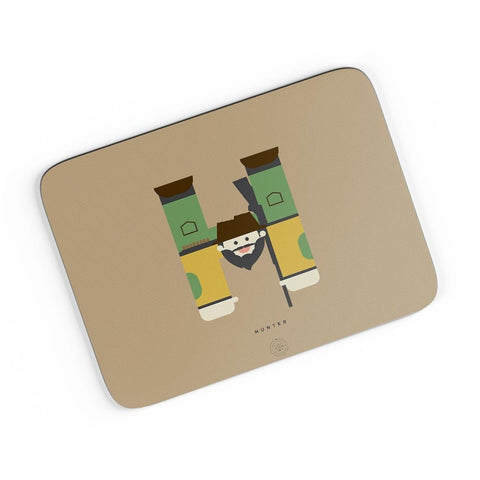 Alphabet People - Hunter A4 Mousepad Online India