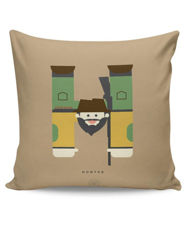 Alphabet People - Hunter Cushion Cover Online India