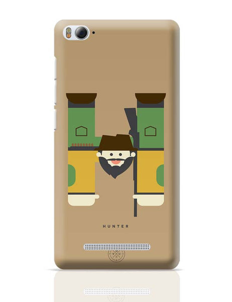 Alphabet People - Hunter Xiaomi Mi 4i Covers Cases Online India