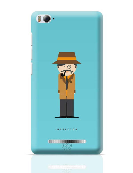 Alphabet People - Inspector Xiaomi Mi 4i Covers Cases Online India