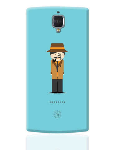 Alphabet People - Inspector OnePlus 3 Cover Online India