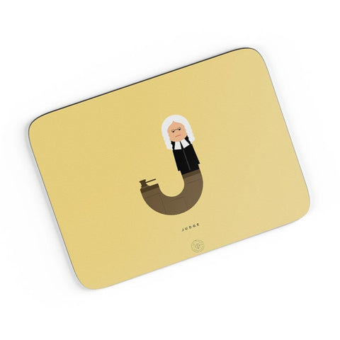 Alphabet People - Judge A4 Mousepad Online India
