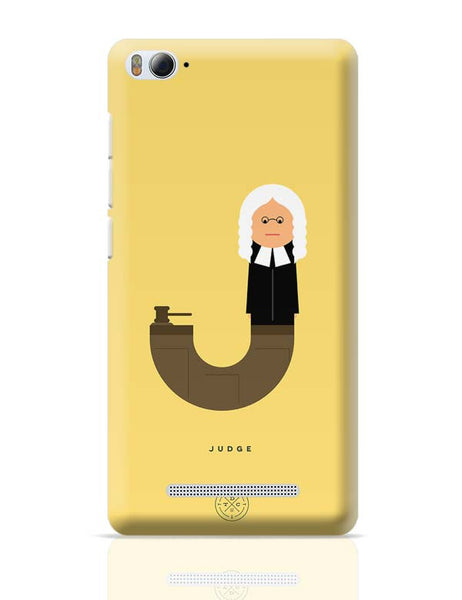 Alphabet People - Judge Xiaomi Mi 4i Covers Cases Online India